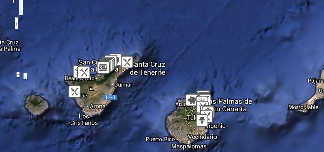 Lista comer bien en Canarias