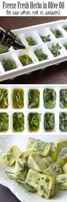 congelar-especias-en-aceite-de-oliva